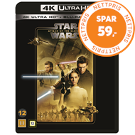 Produktbilde for Star Wars: Episode II - Attack Of The Clones / Klonene Angriper (4K Ultra HD + Blu-ray)