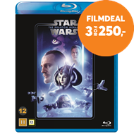 Produktbilde for Star Wars: Episode I - The Phantom Menace / Den Skjulte Trussel (BLU-RAY)