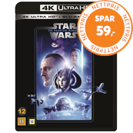 Produktbilde for Star Wars: Episode I - The Phantom Menace / Den Skjulte Trussel (4K Ultra HD + Blu-ray)
