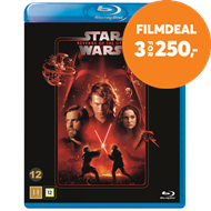 Produktbilde for Star Wars: Episode III - Revenge Of The Sith / Sithene Tar Hevn (BLU-RAY)