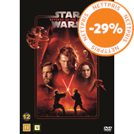 Produktbilde for Star Wars: Episode III - Revenge Of The Sith / Sithene Tar Hevn (DVD)