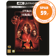 Produktbilde for Star Wars: Episode III - Revenge Of The Sith / Sithene Tar Hevn (4K Ultra HD + Blu-ray)