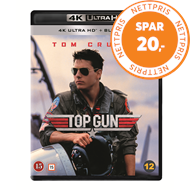Produktbilde for Top Gun (1986) (4K Ultra HD + Blu-ray)
