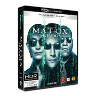 Produktbilde for The Matrix Trilogy (4K Ultra HD + Blu-ray)