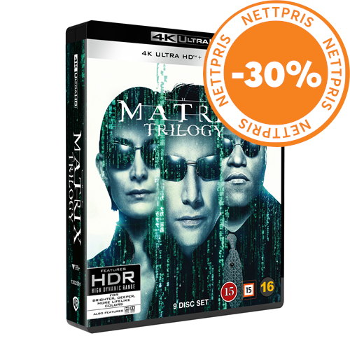 The Matrix Trilogy (4K Ultra HD + Blu-ray)