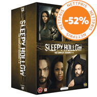 Produktbilde for Sleepy Hollow - Sesong 1-4 (Complete Collection) (DVD)