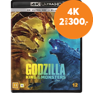 Produktbilde for Godzilla - King Of The Monsters (4K Ultra HD + Blu-ray)