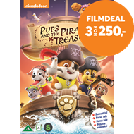 Produktbilde for Paw Patrol - Pups And The Pirate Treasure (DVD)