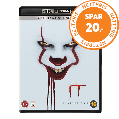 It 2: Chapter Two (4K Ultra HD + Blu-ray)