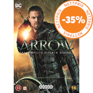 Produktbilde for Arrow - Sesong 7 (DVD)