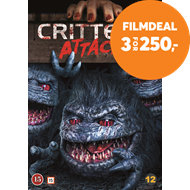 Produktbilde for Critters Attack! (DVD)