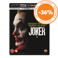 Produktbilde for Joker (2019) (4K Ultra HD + Blu-ray)