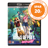 Produktbilde for Birds of Prey: And the Fantabulous Emancipation of One Harley Quinn (4K Ultra HD + Blu-ray)