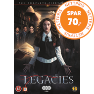 Produktbilde for Legacies - Sesong 1 (DVD)