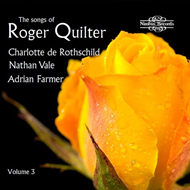 Produktbilde for The Songs Of Roger Quilter, Vol. 3 (CD)