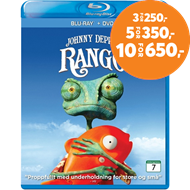 Produktbilde for Rango (Blu-ray + DVD)