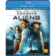 Produktbilde for Cowboys And Aliens (Blu-ray + DVD)