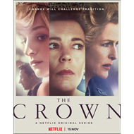 Produktbilde for The Crown - Sesong 4 (DVD)