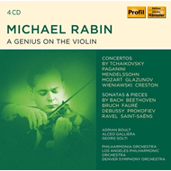 Produktbilde for A Genius On The Violin (4CD)