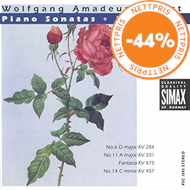 Produktbilde for Mozart: Piano Sonatas; Fantasie (CD)