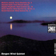 Produktbilde for Works for Wind Quintet (CD)