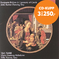 Produktbilde for Britten; Rutter: Ceremony Of Carols (CD)