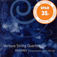 Produktbilde for Brahms: String Quartets, Op 51 Nos 1 & 2 (CD)