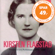Produktbilde for Kirsten Flagstad - Vol.2: Live Performances 1935-48 (CD)