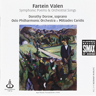 Produktbilde for Valen: Symphonic Poems and Orchestral Songs (CD)