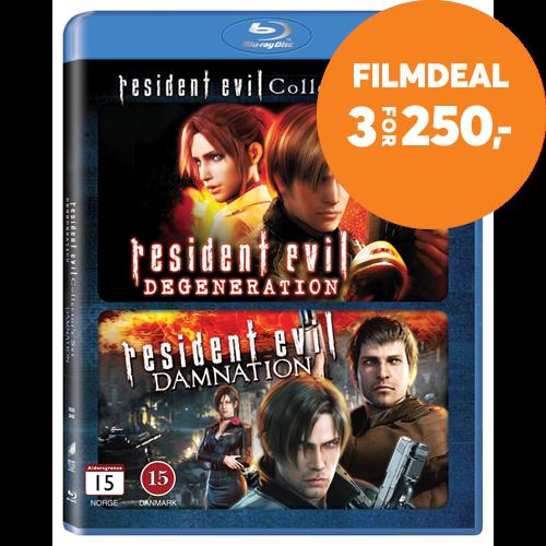 Resident Evil Damnation Degeneration Blu Ray
