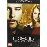 CSI - Crime Scene Investigation - Sesong 7 (UK-import) (DVD)
