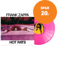 Produktbilde for Hot Rats - 50th Anniversary Limited Edition (VINYL - Pink)