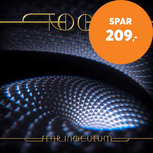 "Fear Inoculum - Limited Edition with 4"" HD Rechargeable Screen and 2 Watt Speaker (CD + MP3)"