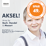 Produktbilde for Aksel Rykkvin - Aksel! Arias By Bach, Handel & Mozart (CD)