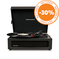 Produktbilde for Crosley Voyager - Black (PLATESPILLER)