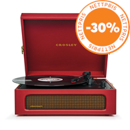 Produktbilde for Crosley Voyager - Burgundy Red (PLATESPILLER)