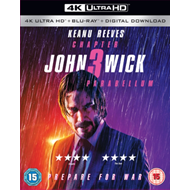 Produktbilde for John Wick: Chapter 3 - Parabellum (UK-import) (4K Ultra HD + Blu-ray)