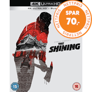 Produktbilde for The Shining / Ondskapens Hotell - Extended Cut (UK-import) (4K Ultra HD + Blu-ray)
