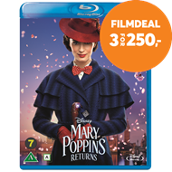 Produktbilde for Mary Poppins 2 - Mary Poppins Returns (BLU-RAY)
