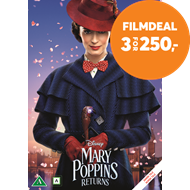 Produktbilde for Mary Poppins 2 - Mary Poppins Returns (DVD)
