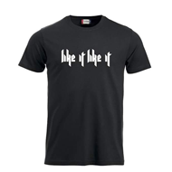 Marcus & Martinus - Like It Like It T-Shirt - Bilde Bak - Sort MEDUIM (T-SHIRT)
