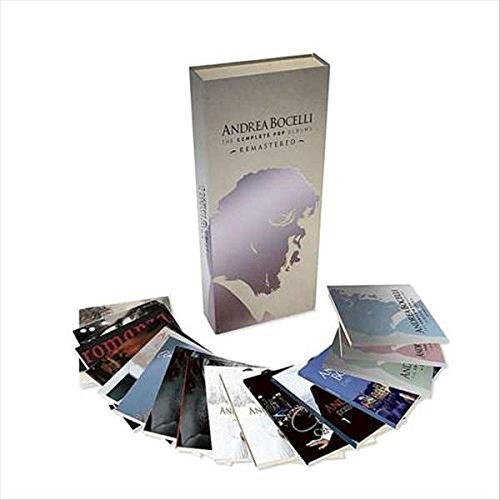 Andrea Bocelli - The Complete Pop Albums (16CD Remastered)