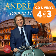 Produktbilde for André Rieu - Roman Holiday (CD)