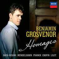 Benjamin Grosvenor - Homages (CD)