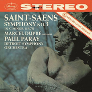 "Saint-Saëns: Symphony No.3 in C minor - ""Organ"" (VINYL)"