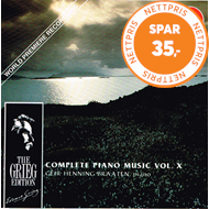 Produktbilde for Grieg: Piano Works, Vol.10 (CD)