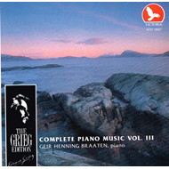Grieg: Piano Works, Vol. 3 (CD)