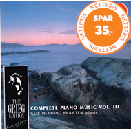 Produktbilde for Grieg: Piano Works, Vol. 3 (CD)