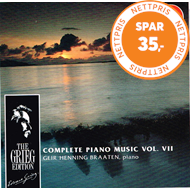 Produktbilde for Grieg: Piano Works, Vol. 7 (CD)