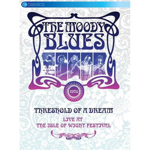 The Moody Blues - Threshold Of A Dream: Live At The Isle Of Wight Festival 1970 (DVD)
